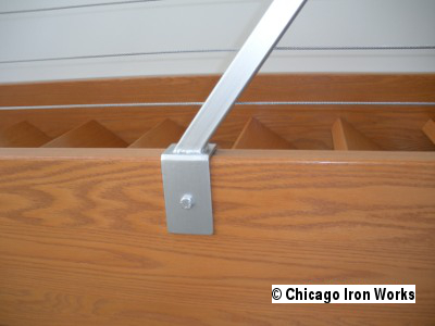 Steel Cable Railing Post